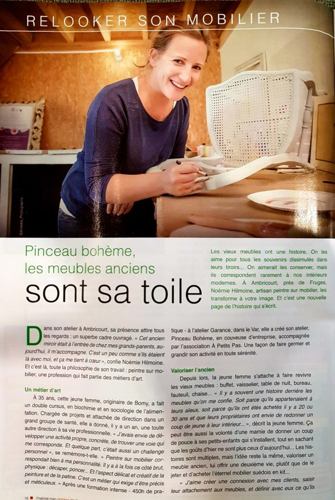 article pinceau bohème rénovation