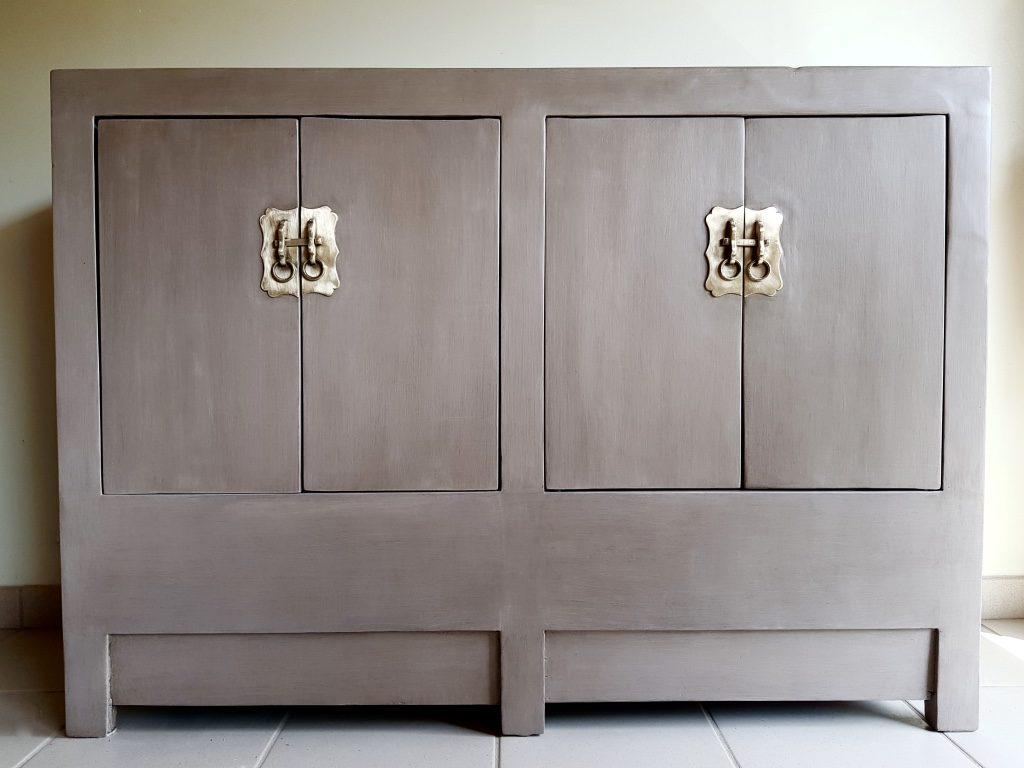 patine meuble chinois
